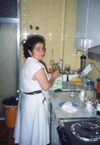 Avelina, hermana de Arcelia y empleada de mi abuela Rebeca.