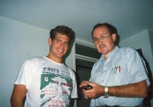Dani y Jaime (mi padre)