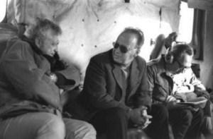 Ariel Sharon e Izhak Rabin, dos ex militares que al convertirse en Primer Ministro se comportaron como estadistas. Sharon sacó al ejército israelí y a 16 mil colones de la Franja de Gaza.